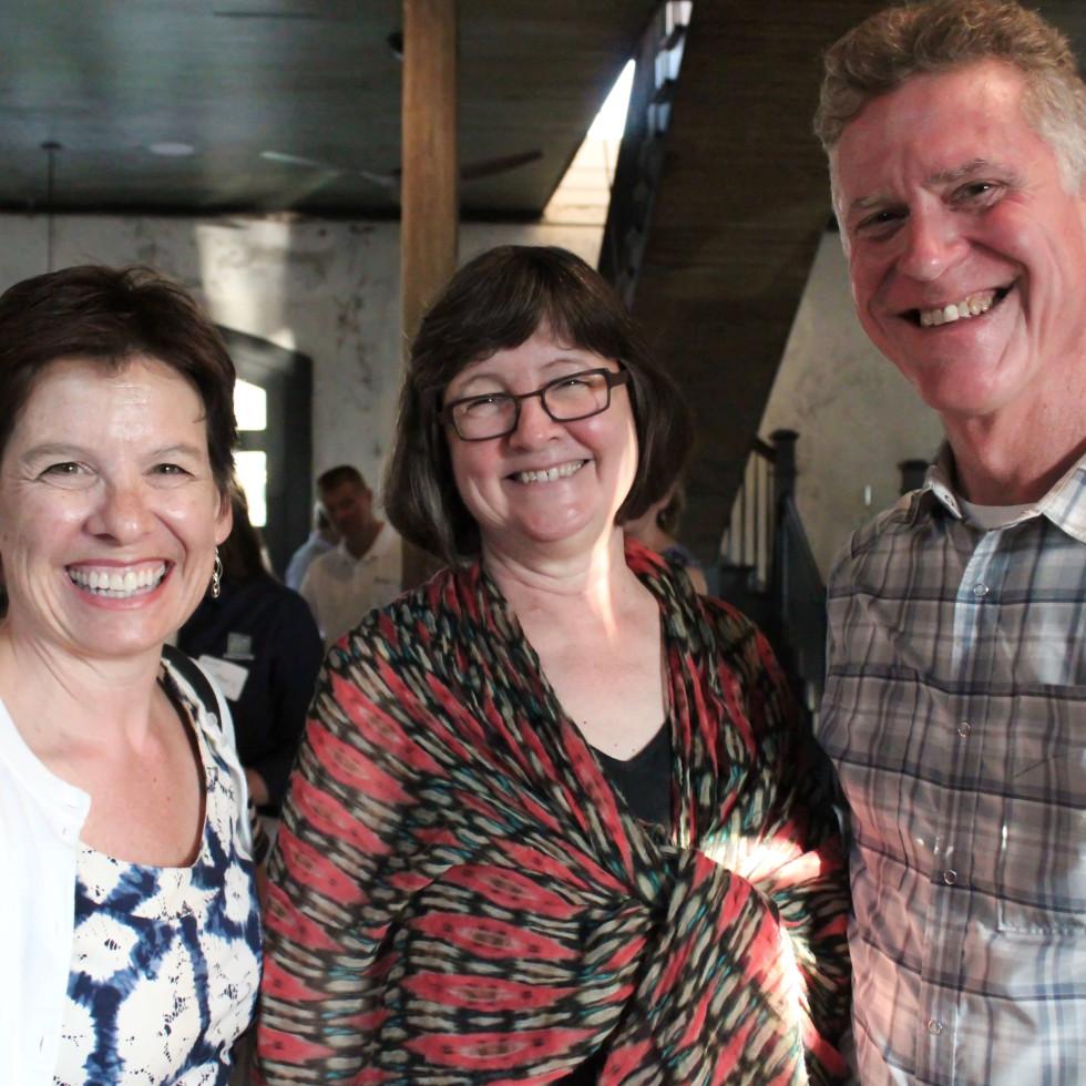 Houston Parks Board event, 7/16, Sheryl Kolasinski, Beth White, Frank Briscoe