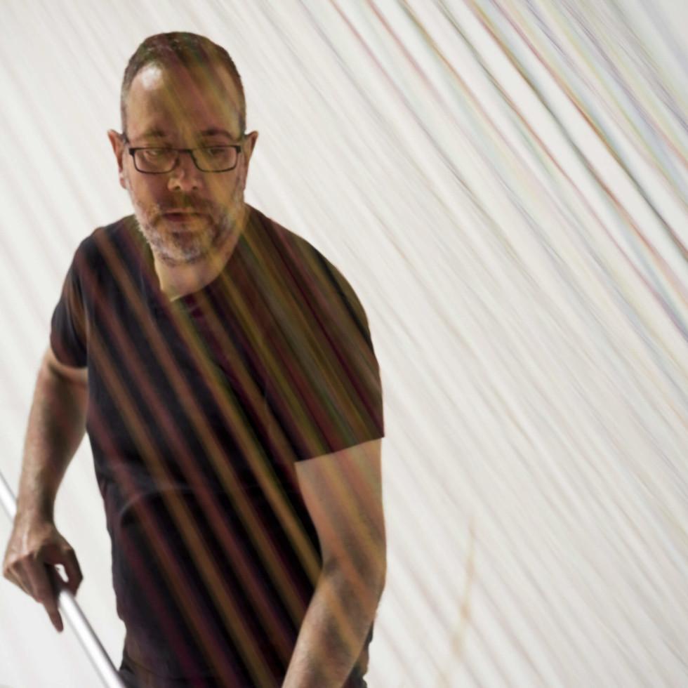 Artist Gabriel Dawe