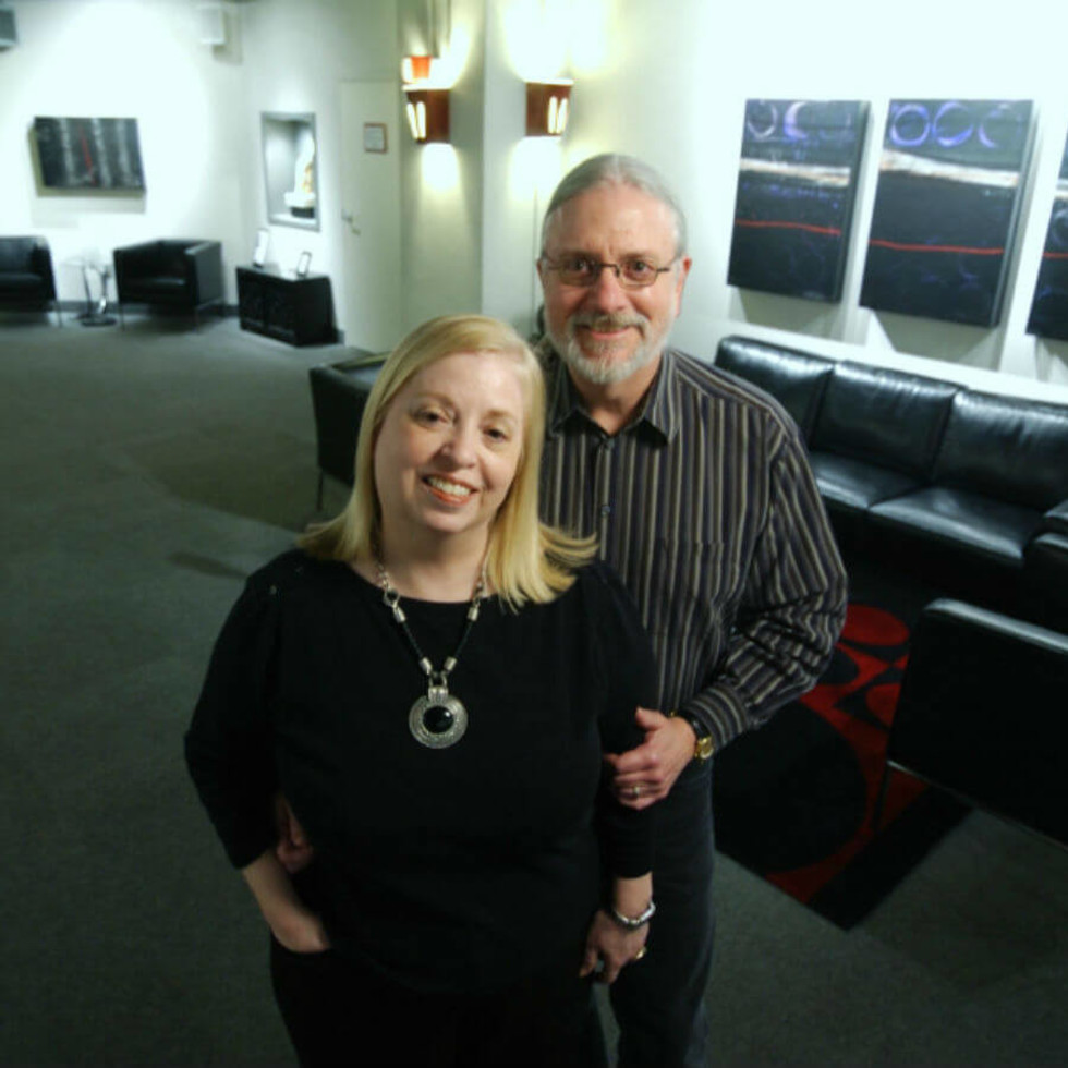 Rose Pearson and Bill Newberry of Circle Theatre