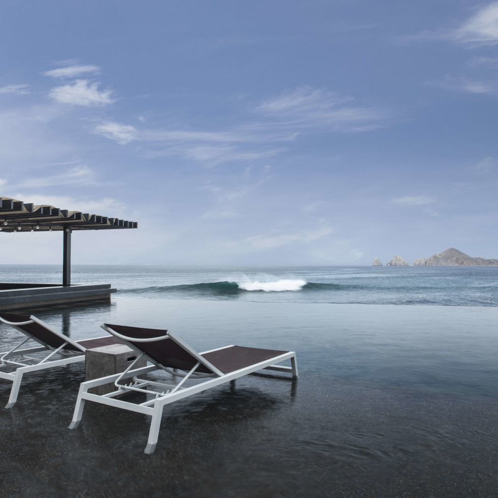 Infinity pool at The Cape in Cabo San Lucas