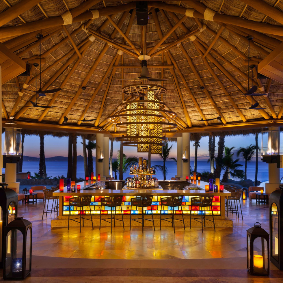 One&Only Palmilla Agua Bar at Cabo San Lucas