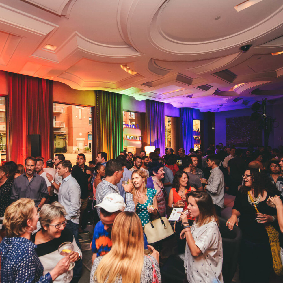 Turn it Up for Change Human Rights Campaign W Austin hotel Austin Pride 2016