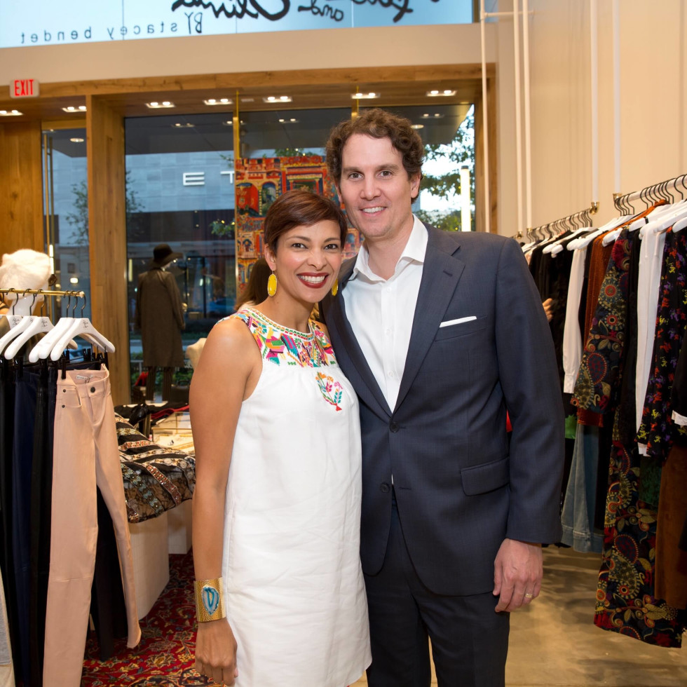 Alice and Olivia opening, 8/16,  Jamil Higley, Carter Higley