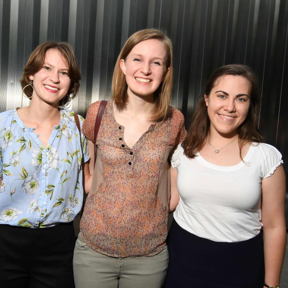 Contemporary Arts Museum YPs, 8/16, Travis Walne, Sara CainAlicia Staszyc, Rebecca Loftis, Katherine Sandhop