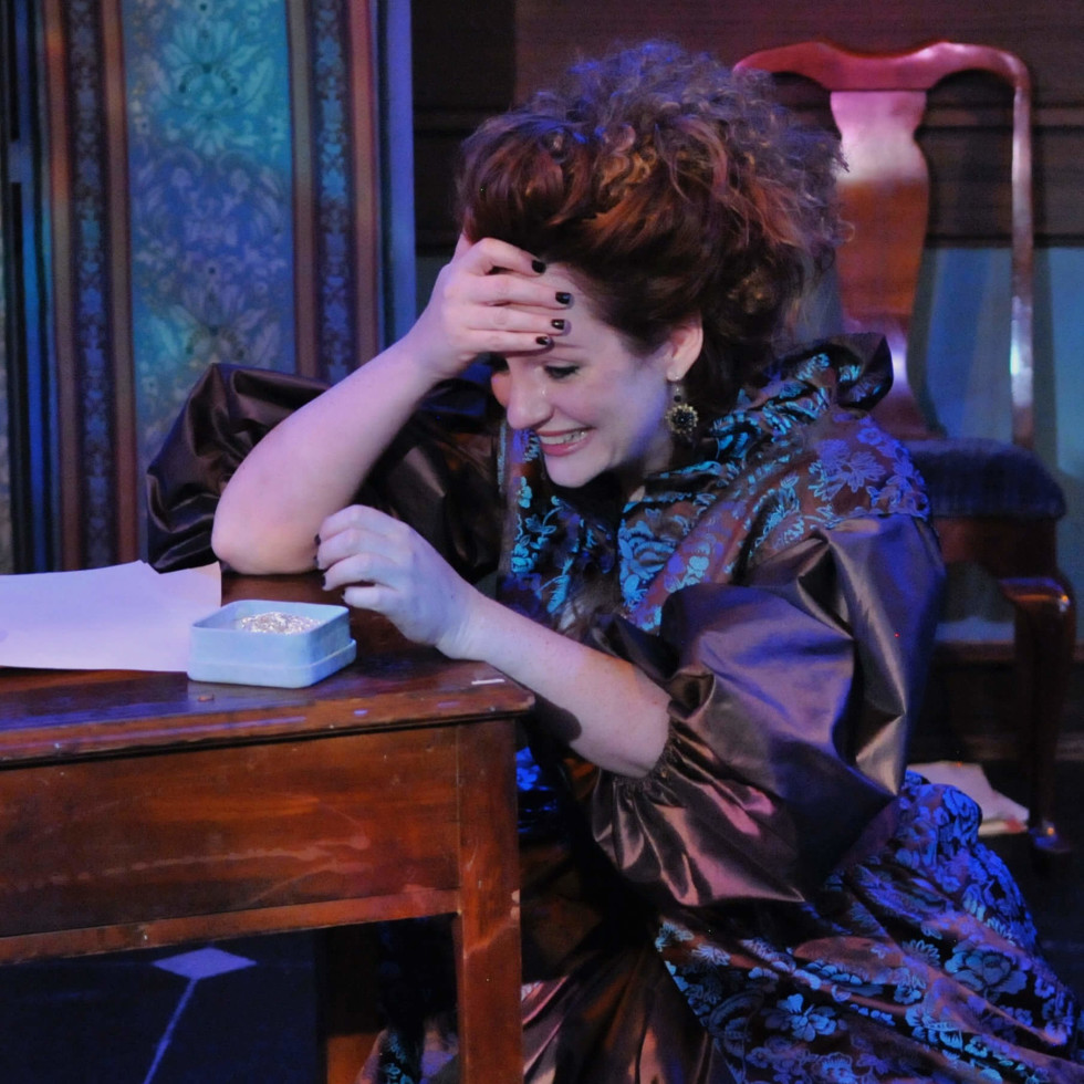 """Jessica Cavanagh in """"Or"""" at Echo Theatre"""