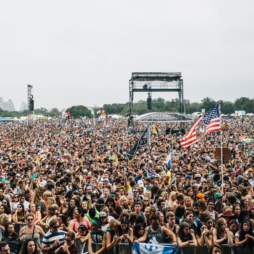 Austin City Limits Festival ACL Fest 2014 Weekend Two Crowd