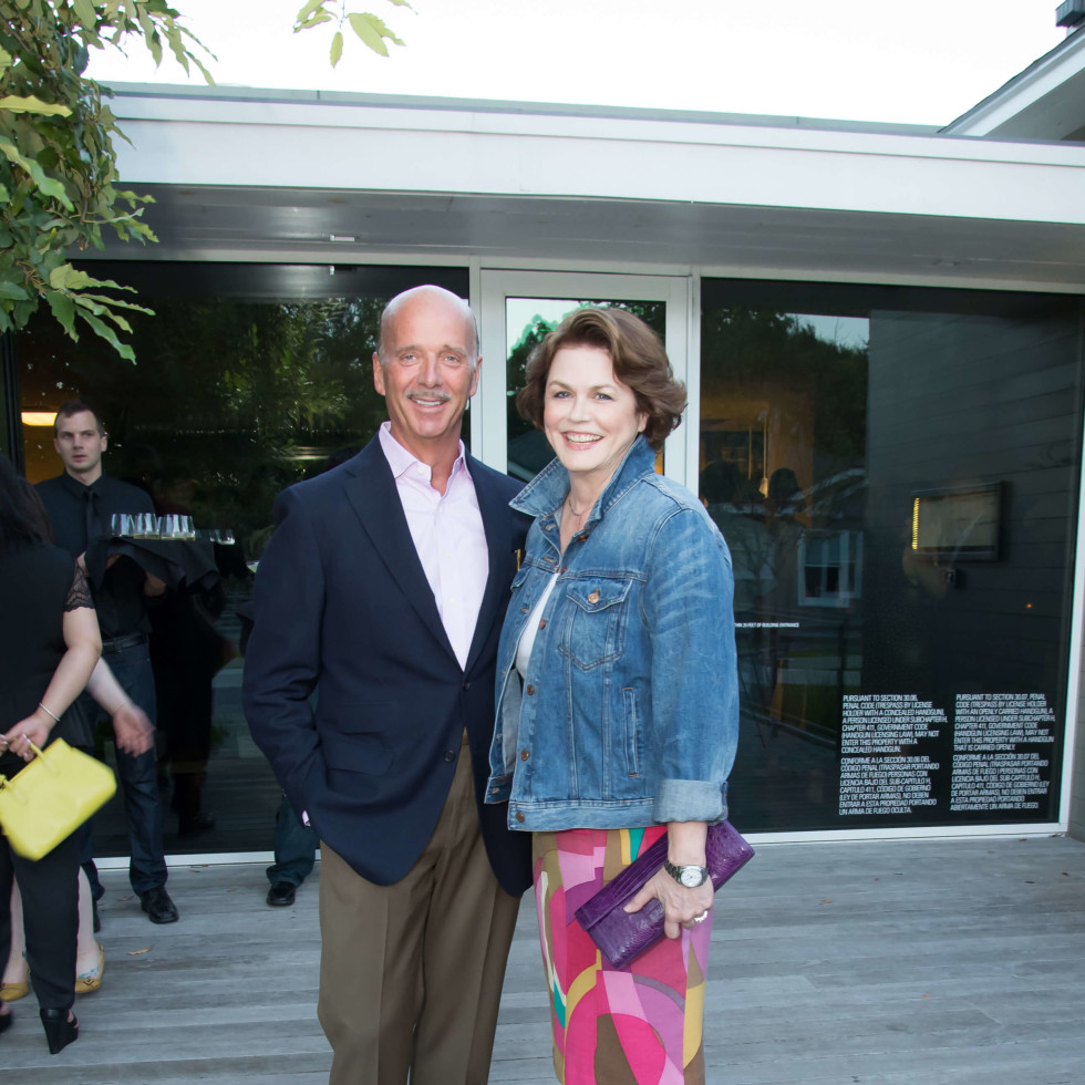 PaperCity launch party, 9/16, Neill Davis, Ruth Davis