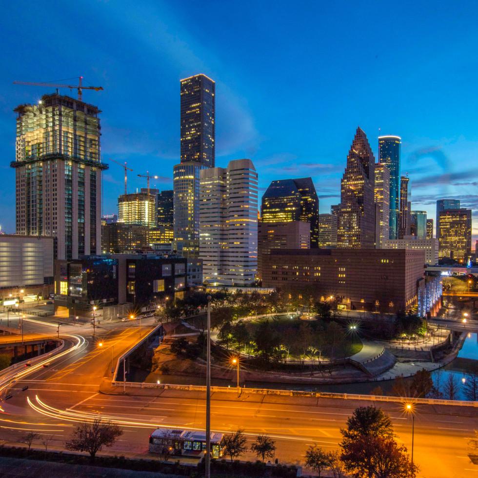 Houston, Post HTX at 401 Franklin, September 2016, downtown Houston