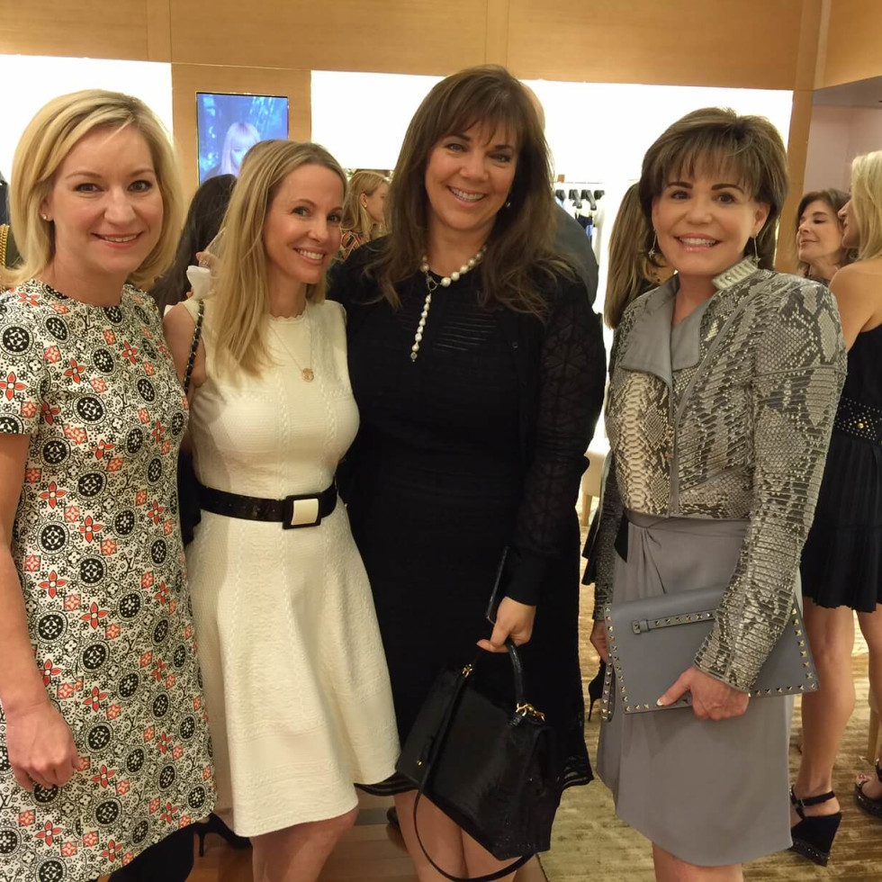 Vogue, Louis Vuitton lunch, 9/26 Emily Paull, Raquel Segal, Terri Havens, Hallie Vandiver