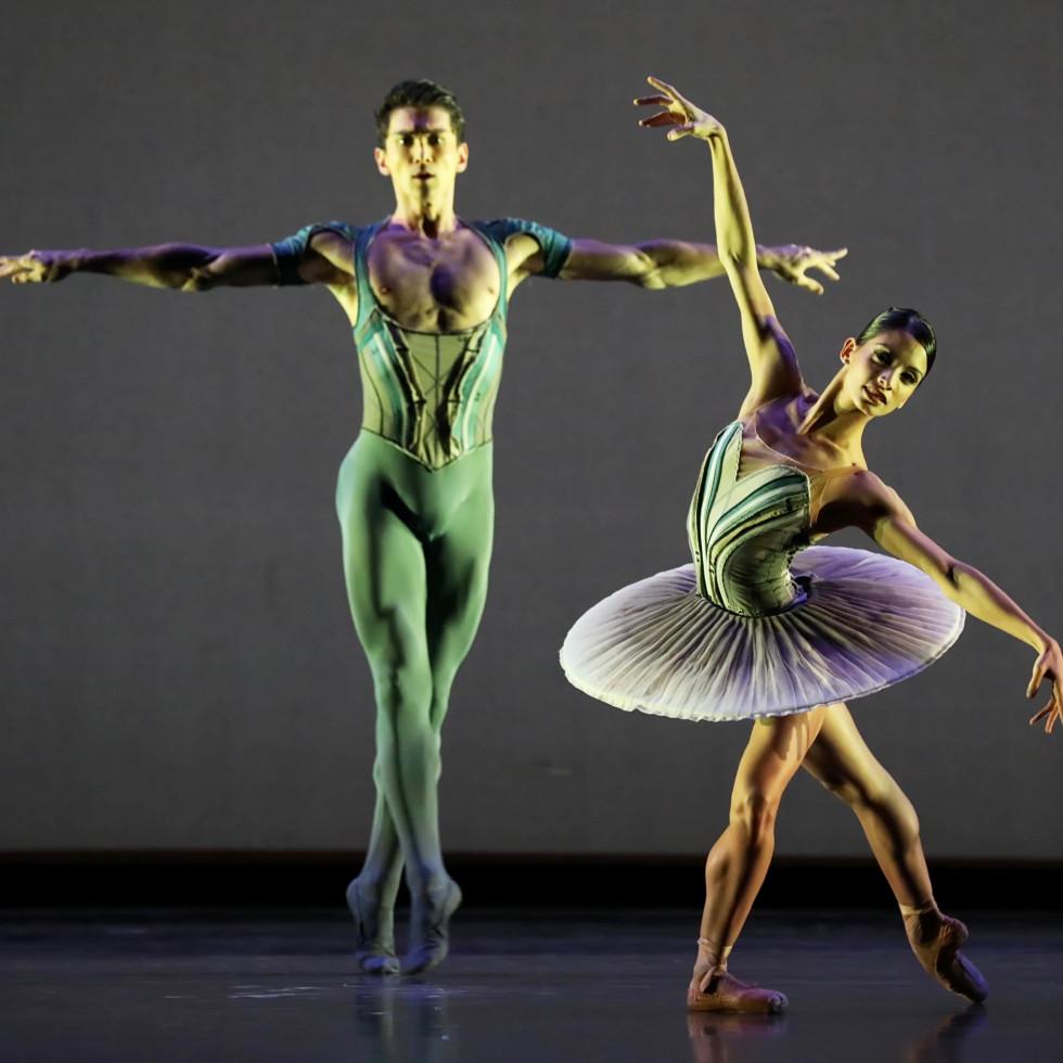 Houston Ballet, Son of Chamber Symphony, 9/16  Karina Gonzalez and Charles-Louis Yoshiyama