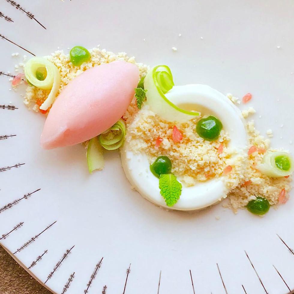 Uchi Austin restaurant Yogurt Okashi 2015