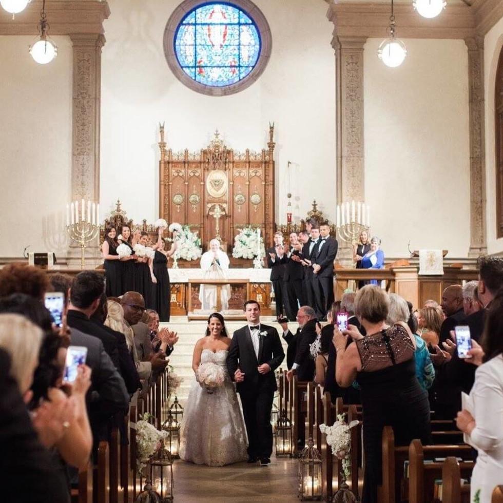 Julia Longoria Wedding