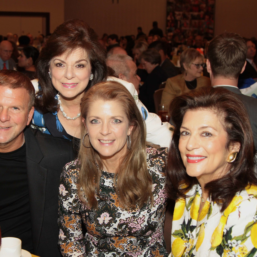Houston Children's Charity 20th anniversary, 9/16  Tilman Fertitta, Laura Ward, Paige Fertitta, Dancie Ware