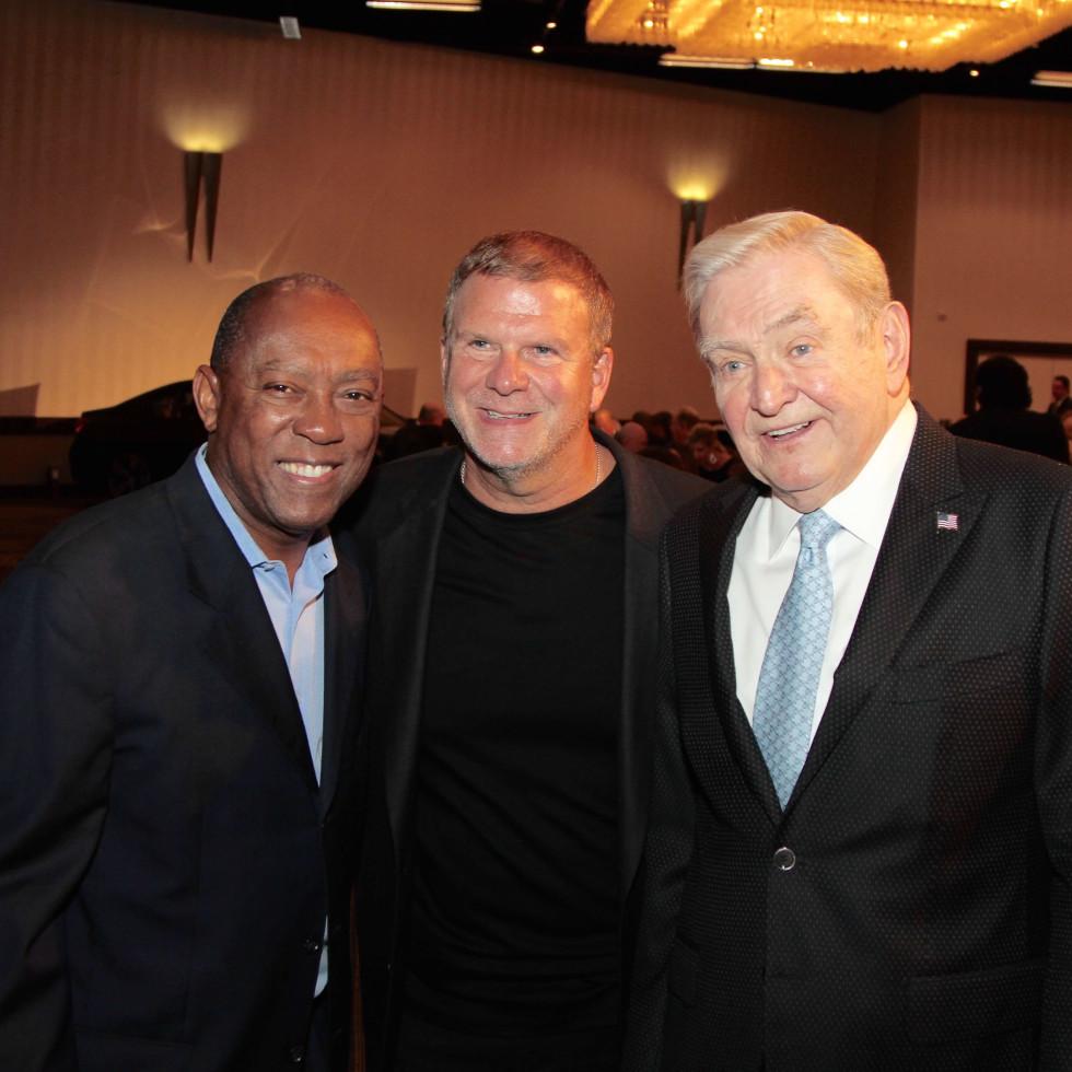 Houston Children's Charity 20th anniversary, 9/16  Mayor Sylvester Turner, Tilman Fertitta, Dave Ward