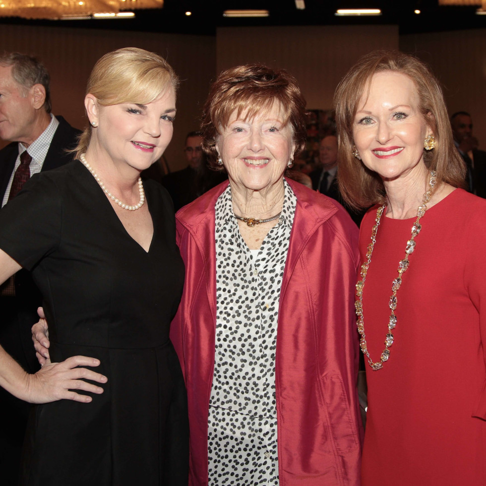 Houston Children's Charity 20th anniversary, 9/16  Kim Padgett, Rosalyn Caplan, Carol Sawyer