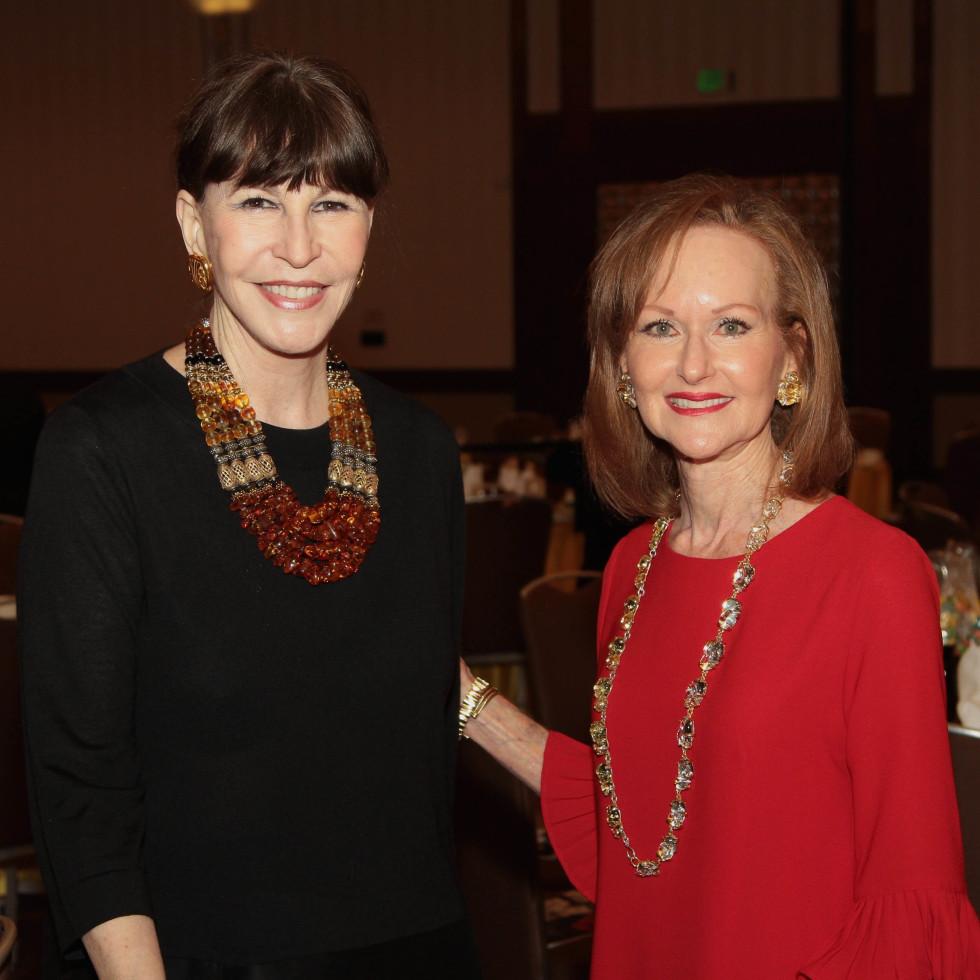 Houston Children's Charity 20th anniversary, 9/16  Shelby Hodge, Carol Sawyer