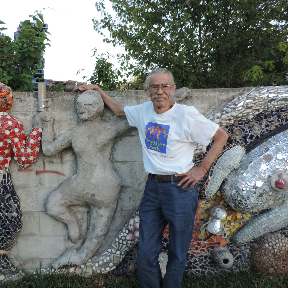 Smither Park designer Dan Phillips