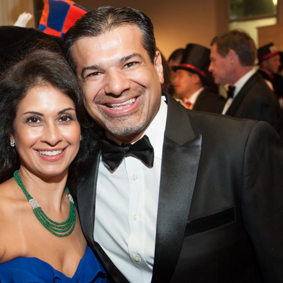 Houston, Childrens Museum of Houston Mad Hatters Ball, Oct. 2016, Rishma Mohamed, Akbar Mohamed