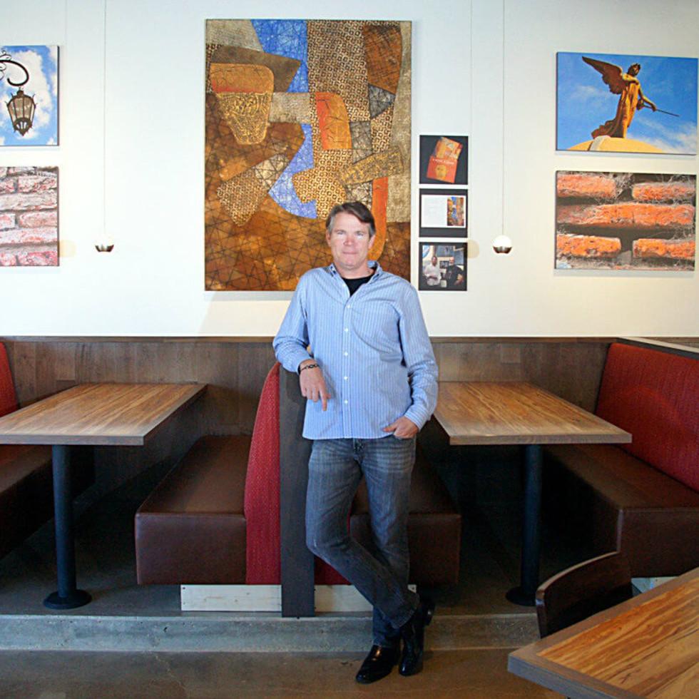 Craig Collins, owner of Nazca Kitchen in Dallas