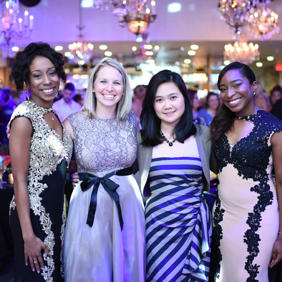 Jungle Book Gala, Kia Austin, Amy McCully, Mandy Pham, Lorena Ibarguen