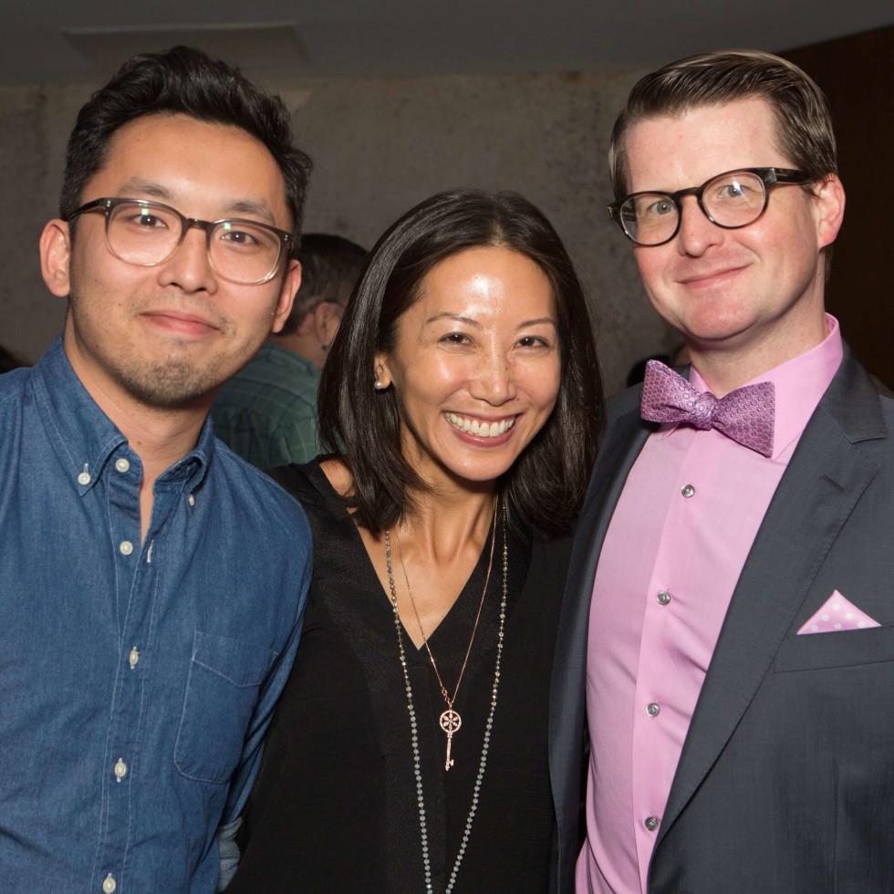 HCAF Kick-Off Party: Francisco Lo, Karen Fang, Jason Raschen