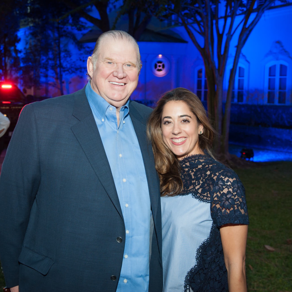 Houston, HPD True Blue Gala, Oct. 2016, Paul  Somerville, Kristina Somerville