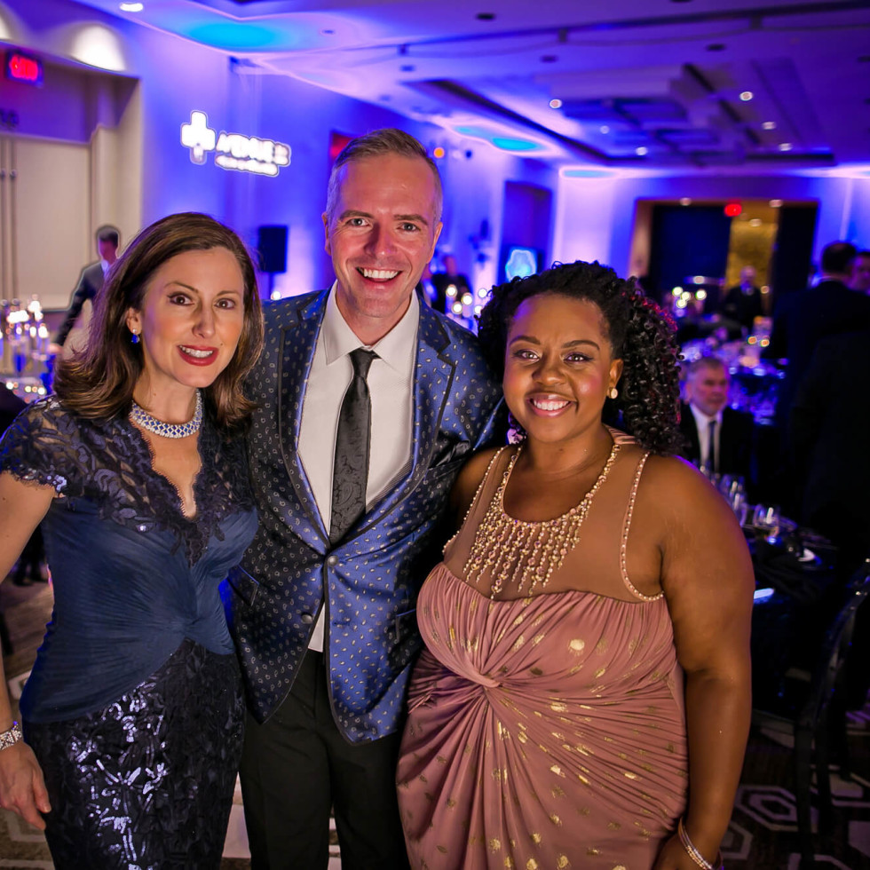 Houston, Sing for Hope gala, Nov. 2016, Camille Zamora, Paul Pettie, Ashley Turner