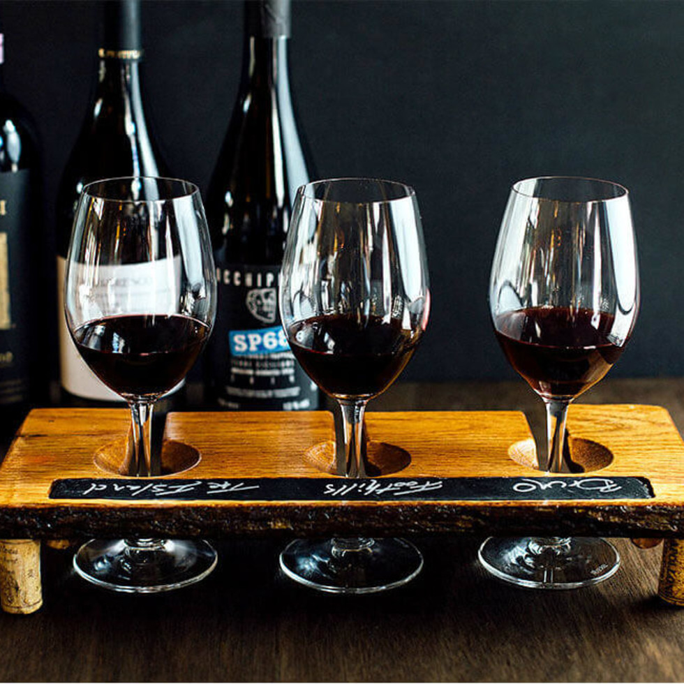 Wine tasting at Travaasa Austin