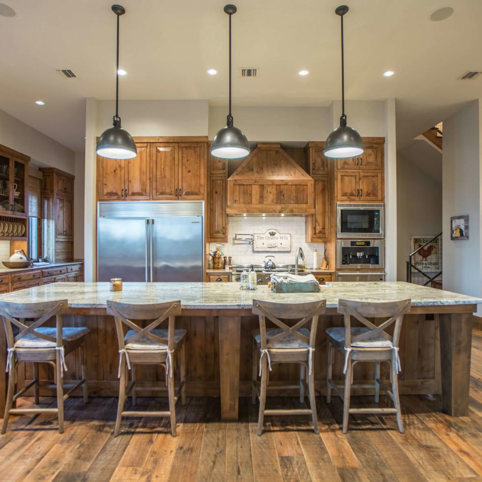 1920 Valentino Cove Lake Travis Spicewood house for sale kitchen