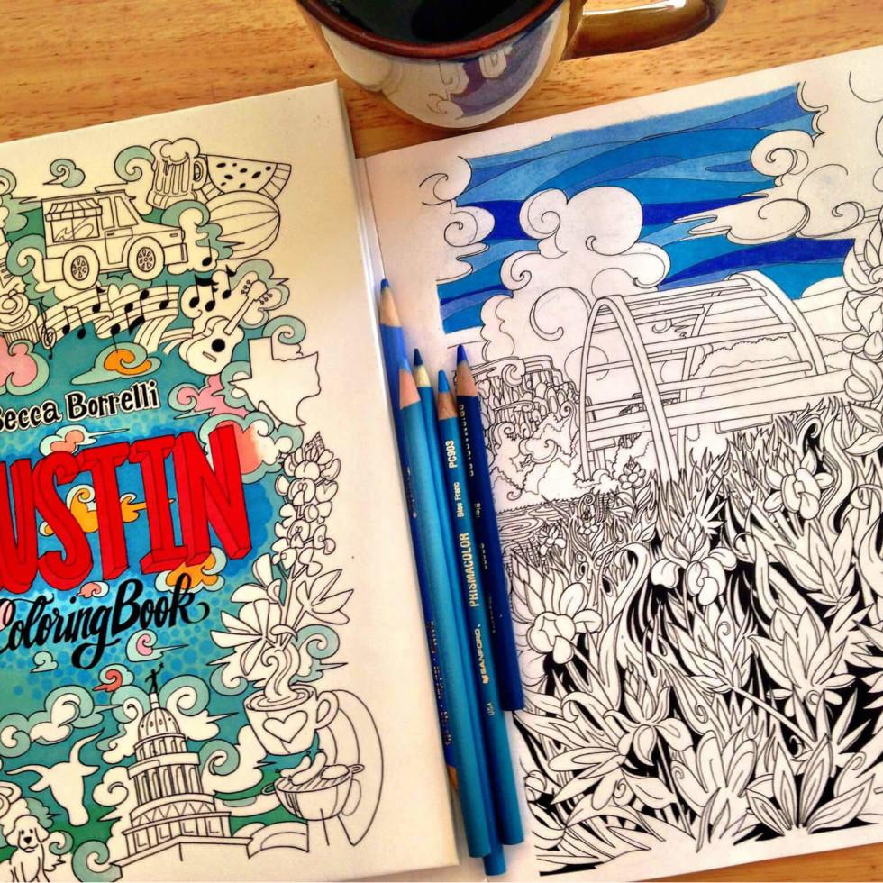 Austin Coloring Book