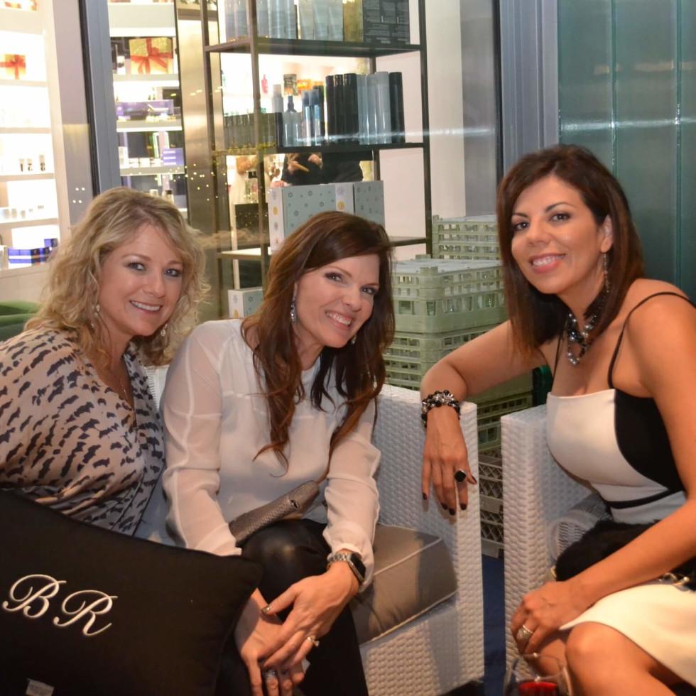 Bella Rinova salon grand opening, Christy Sprague, Sabina Duhon, Monica Ibarra