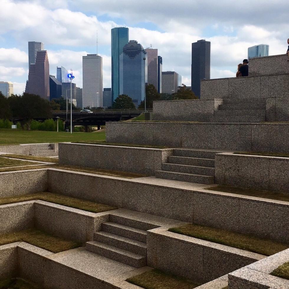 Buffalo Bayou Park Houston Police Officer's Memorial