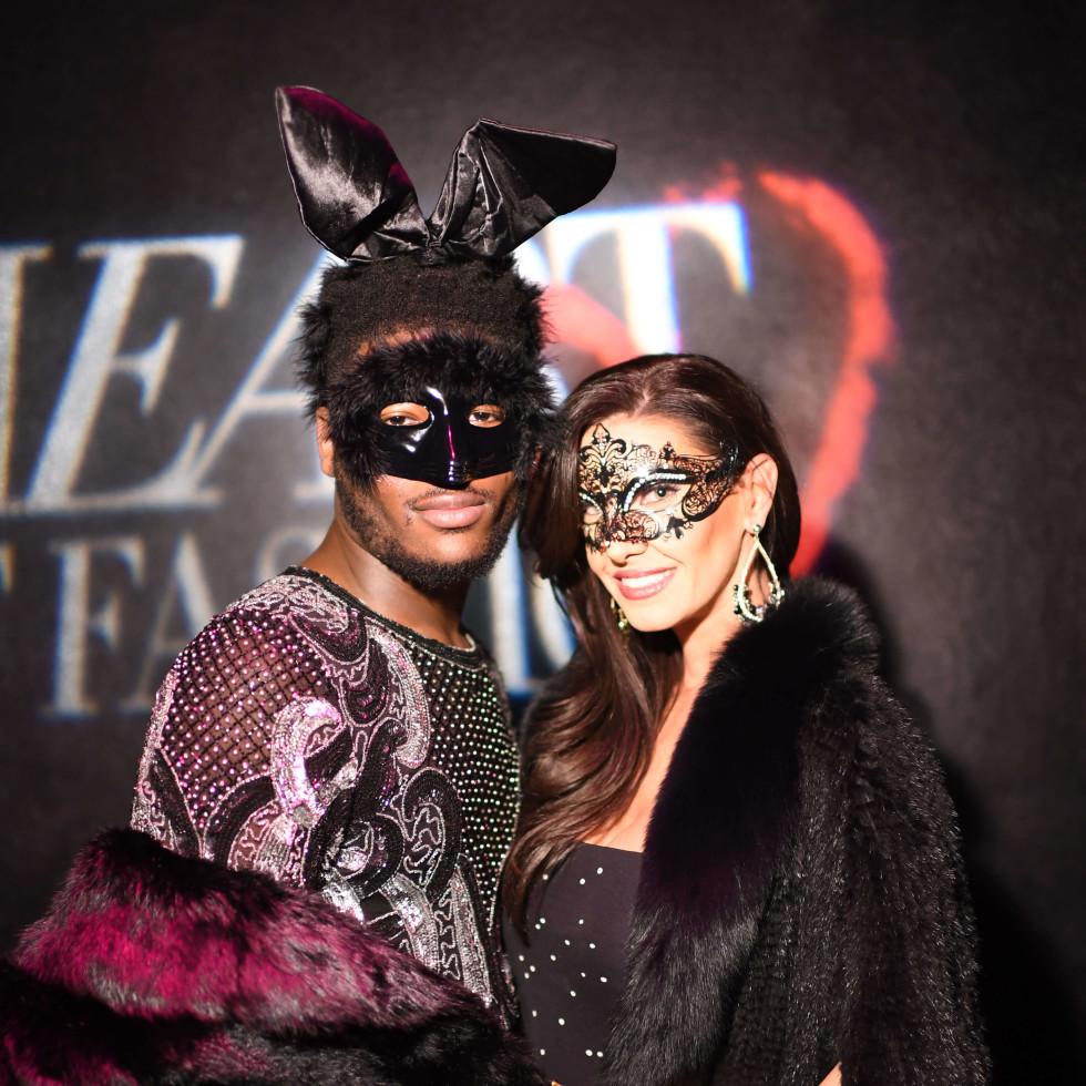 Heart of Fashion Masquerade Ball Joubaier Joubert, Nicole Lassiter
