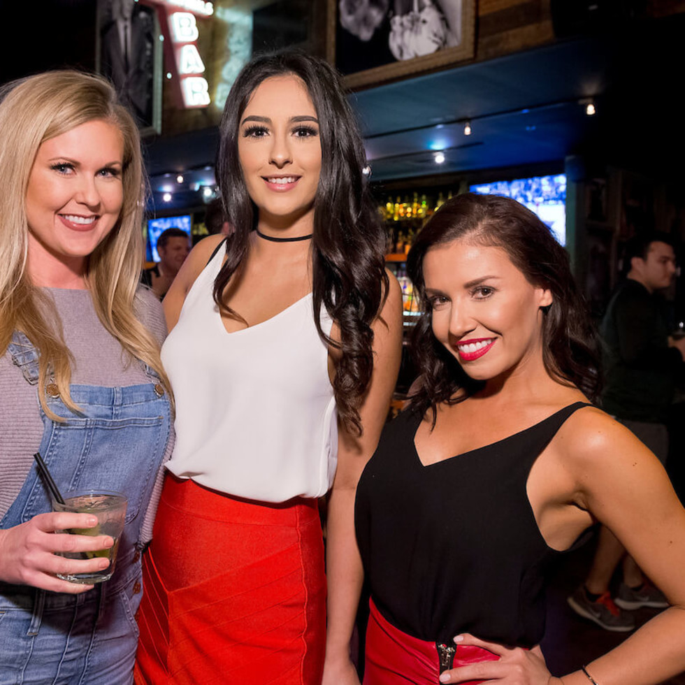 Houston, Red Buds Date Auction, Feb 2017, Crystal Ford, Alexa Covarrubias, Dalia Ornelas