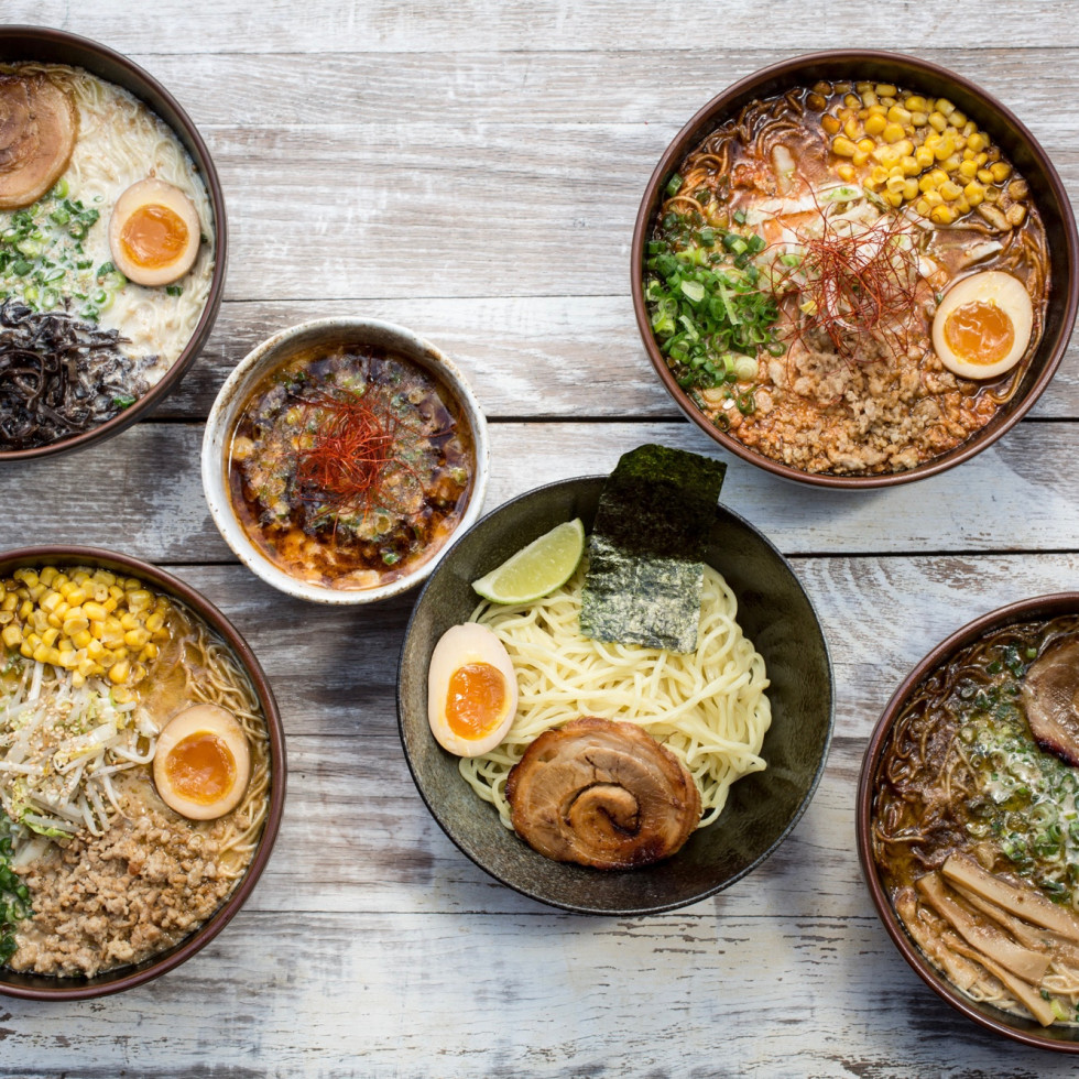 Ramen Tatsu-ya ramen bowls