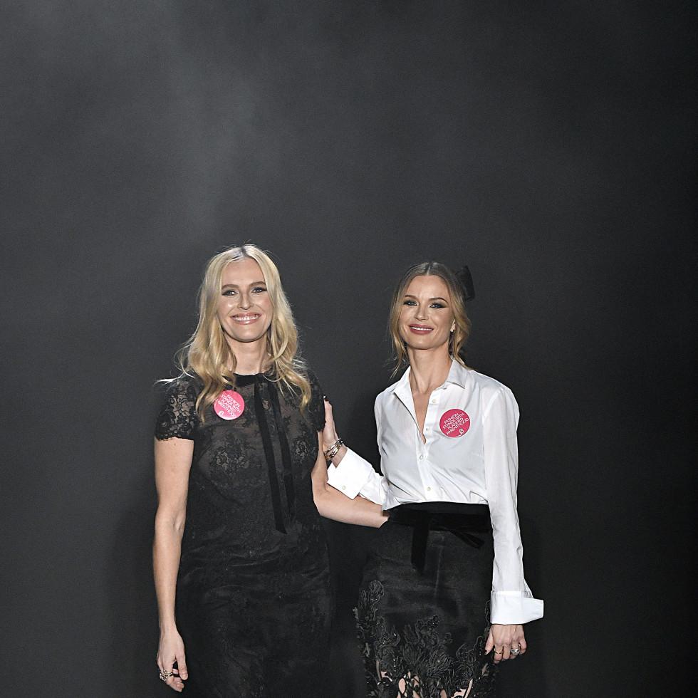 Marchesa designers Keren Craig, Georgina Chapman
