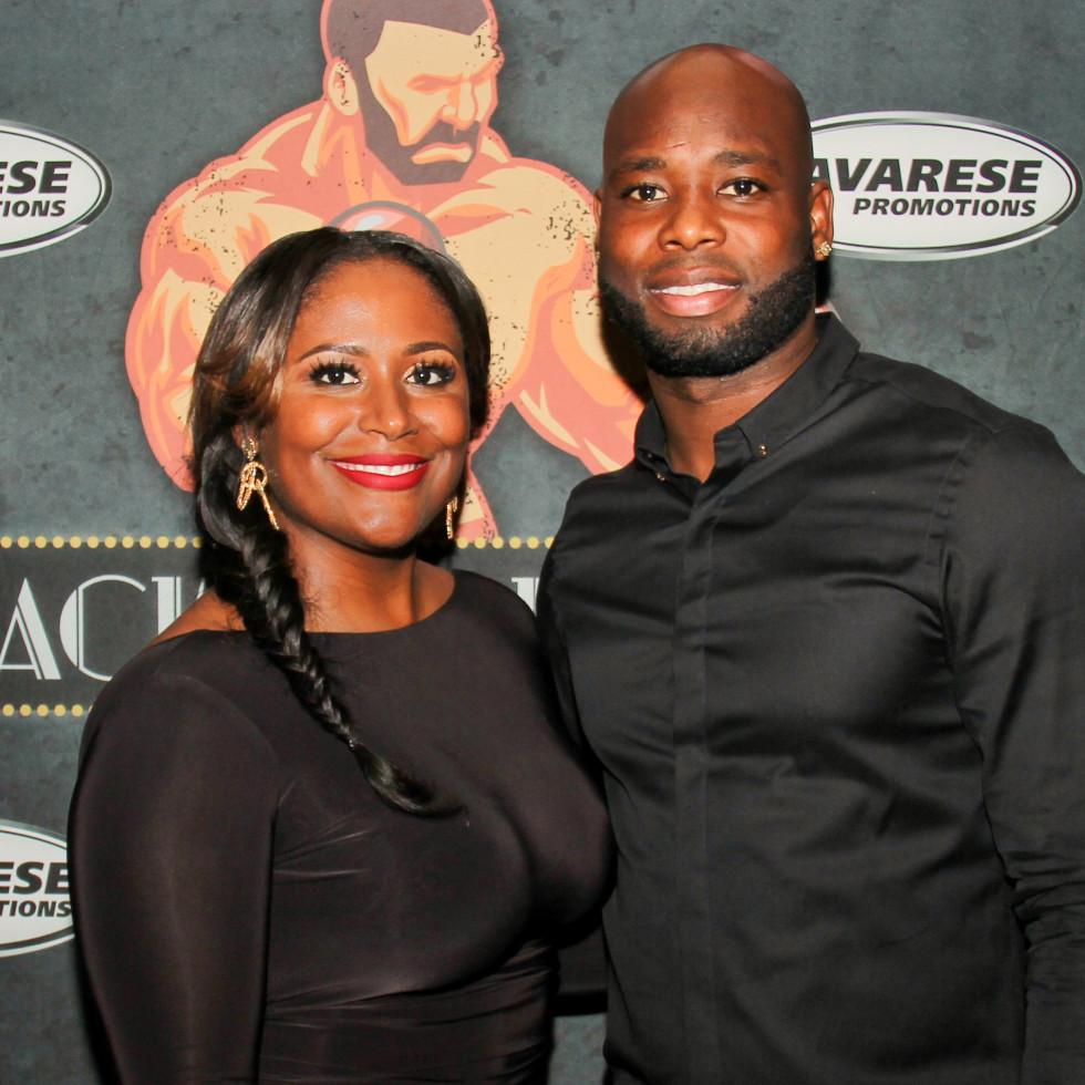 Houston, Black Tie Boxing Benefiting Lone Survivor Foundation, Feb 2017, Johnathan Joseph, Delaina Joseph