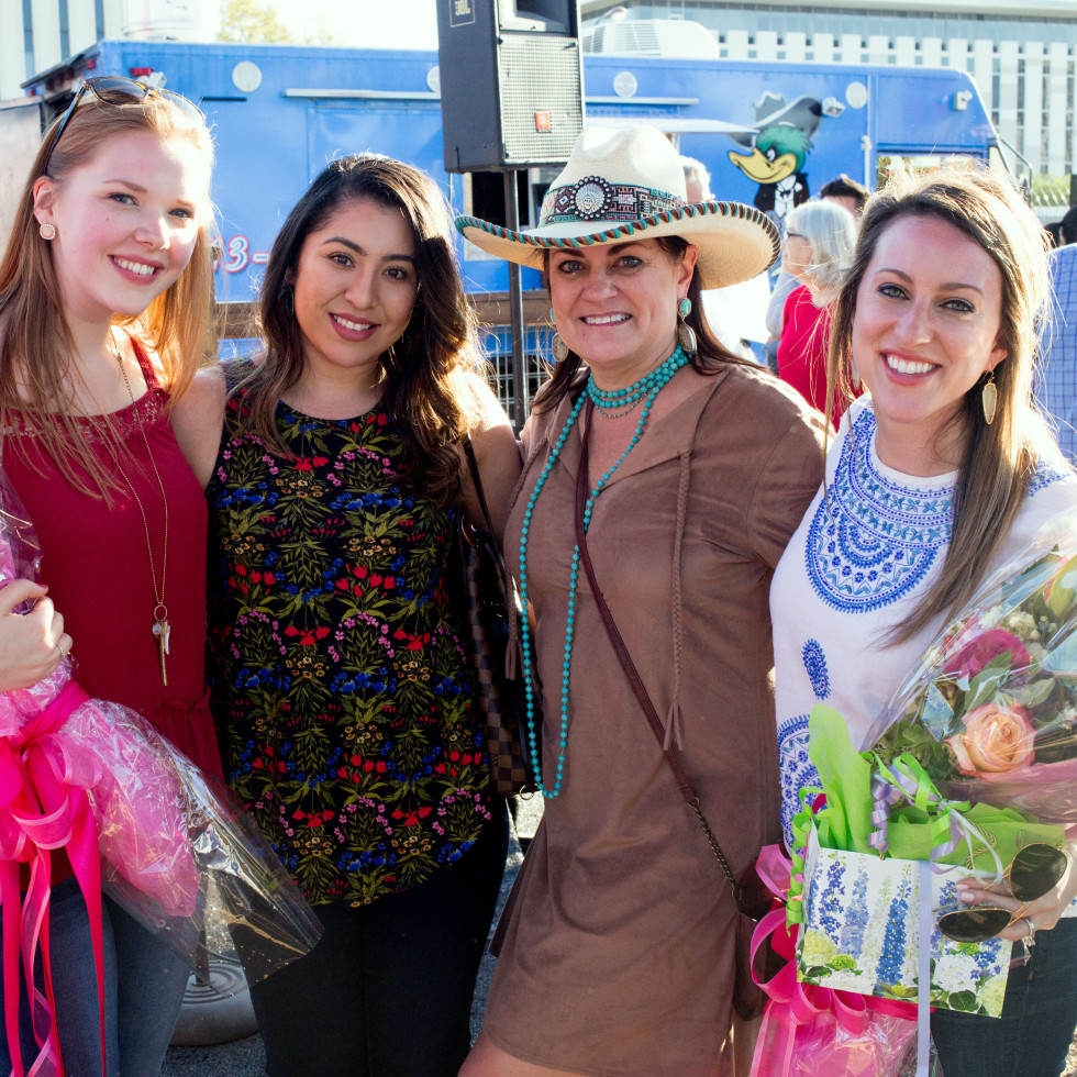 Houston, Casa de Esperanza 7th Annual Chili Cook-off, March 2017, Katie Griffin, Marisol Gutierrez, Laurel Thompson, Jodi Gough