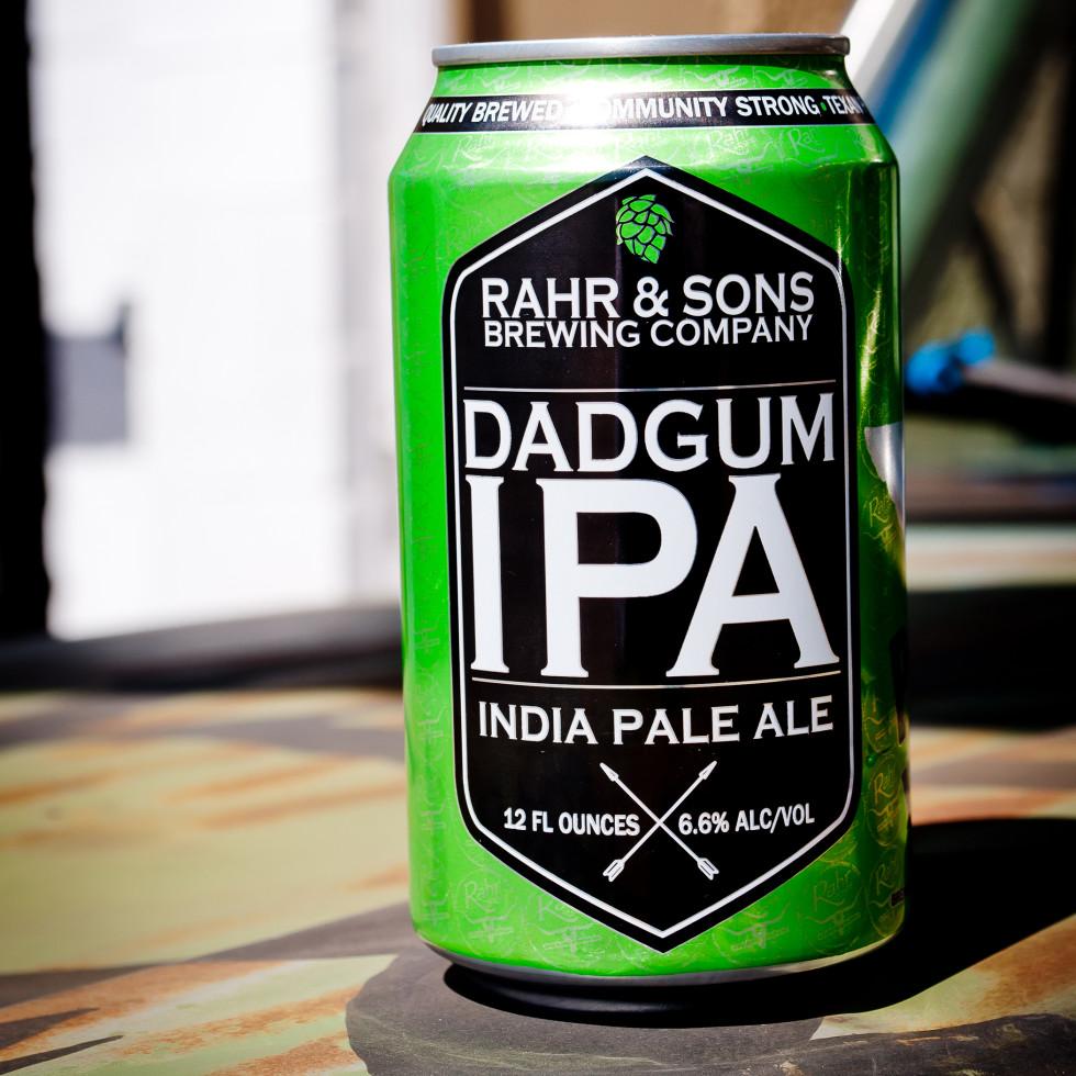 Rahr & Sons Brewing Co. Dadgum IPA