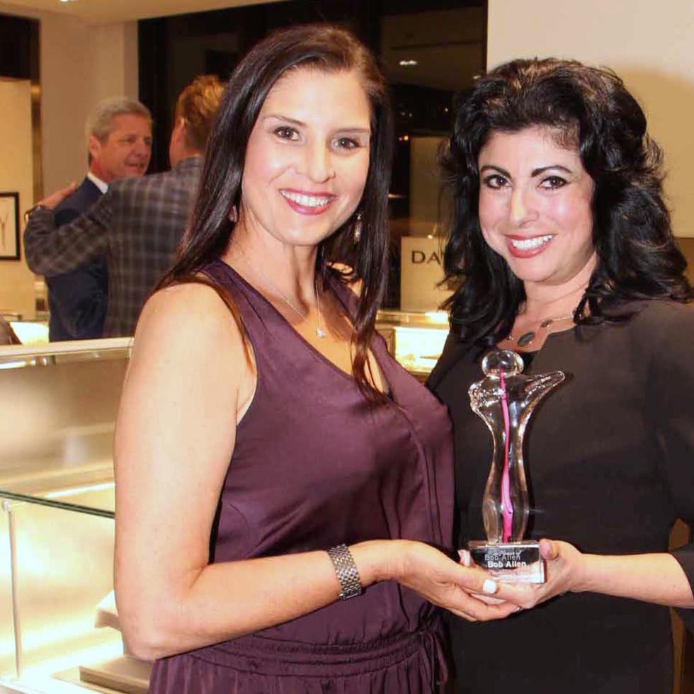 Houston, Kickoff for ESCAPE's Celebrity Serve Benefit, March 2017, Megan Cardet, Christine Johnson