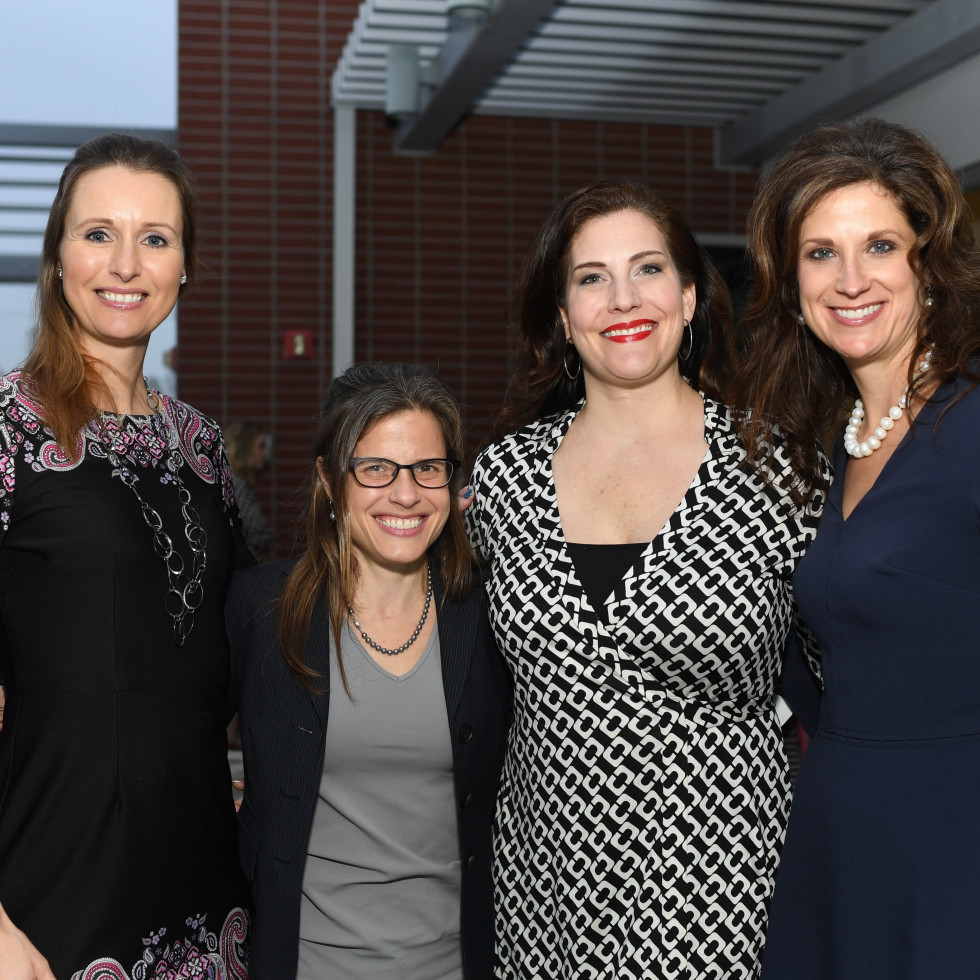 Petra Selever, Valerie Laborde, Tracey Kearny, Traci Twardowski at Dress for Success Models of Success