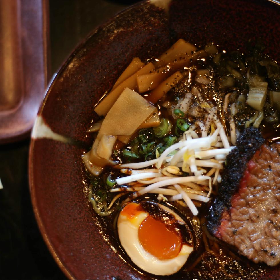 Kemuri Tatsu-Ya Texas barbecue ramen