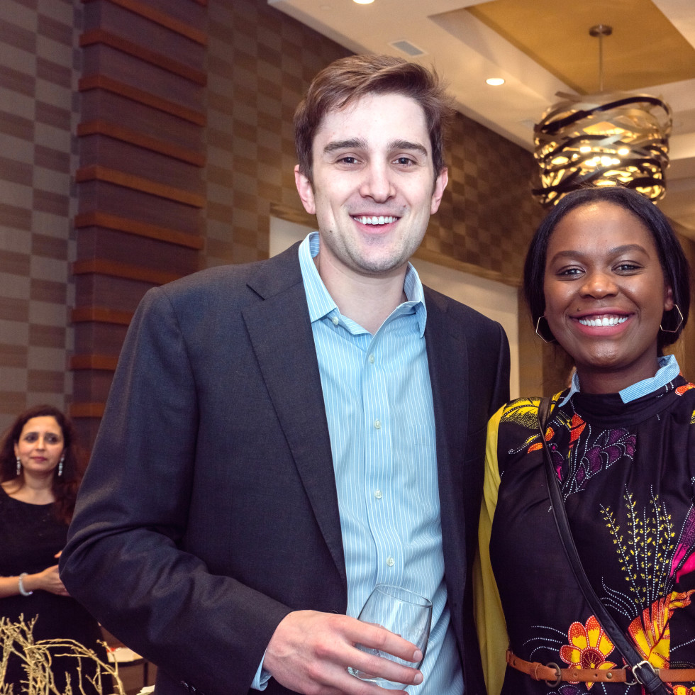 Houston, Pratham Houston's gala kickoff, March 2017, Ryan Van Wagenen, Janu Orega