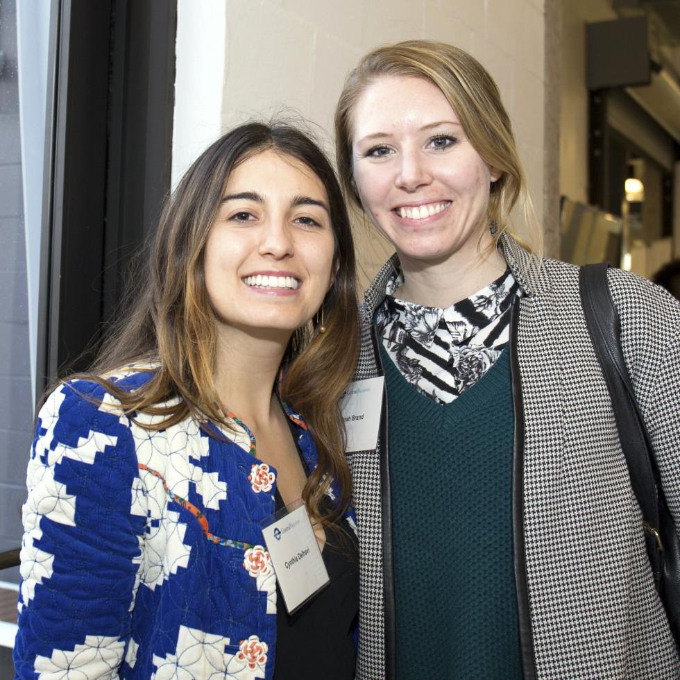 Houston, CHIME YP event at Headquarters, March 2017, Cynthia Delhavi, Sarah Brand