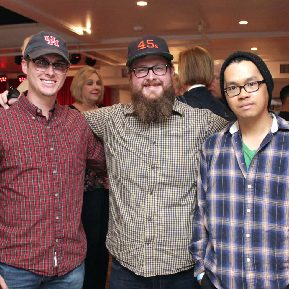 Houston, Mark C Austin Birthday Charity Concert, March 2017, Brandon Franz, Cody Franz, Jonathan Chan