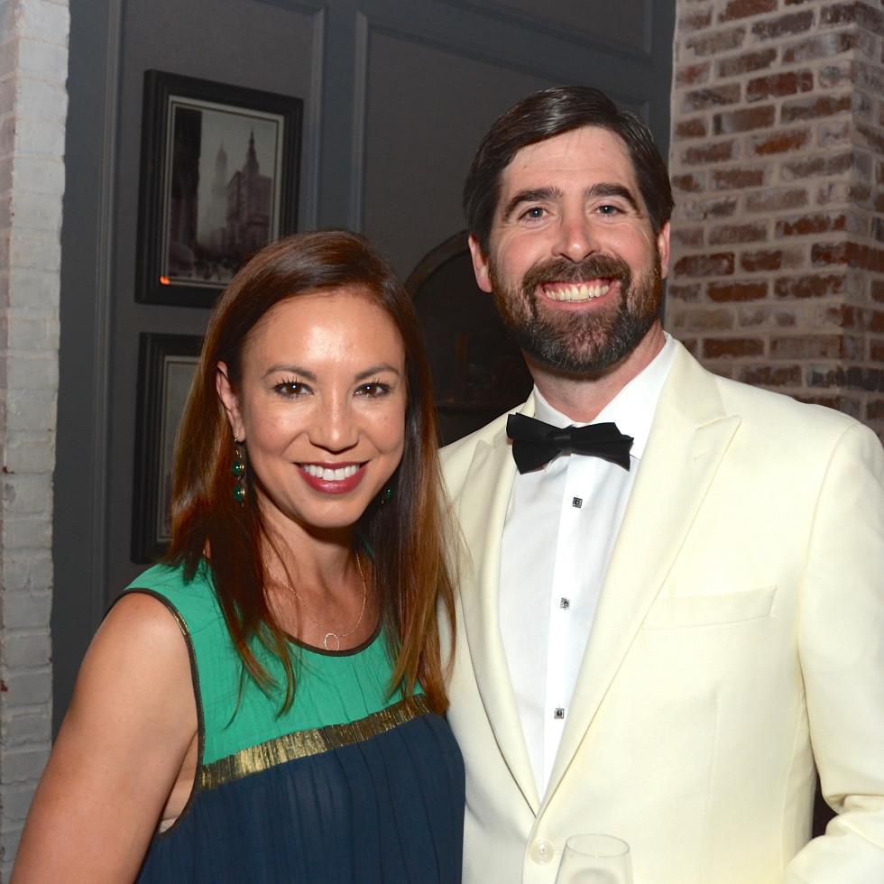 Ginne McConn, Tim McConn at 2017 Da Camera Gala