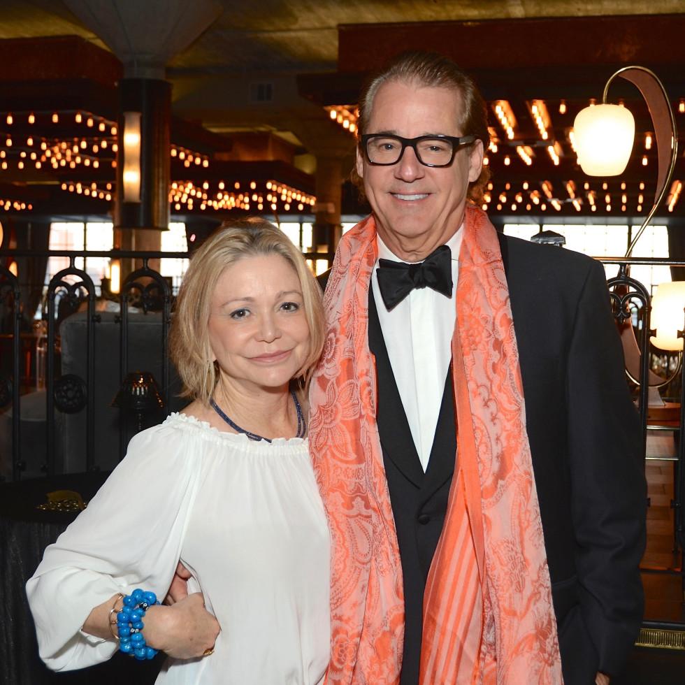 Mimi Del Grande, Robert Del Grande at 2017 Da Camera Gala