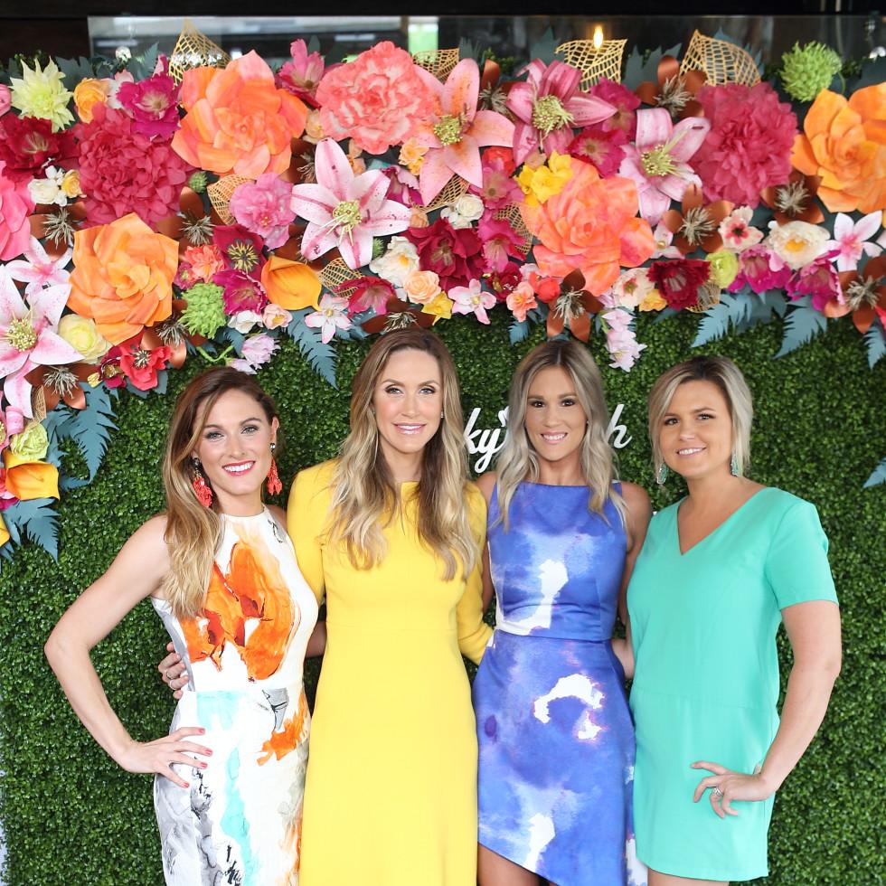 Helen Winchell, Lara Trump, Ashley Butler, Jordan Simpson at Sky High Brunch