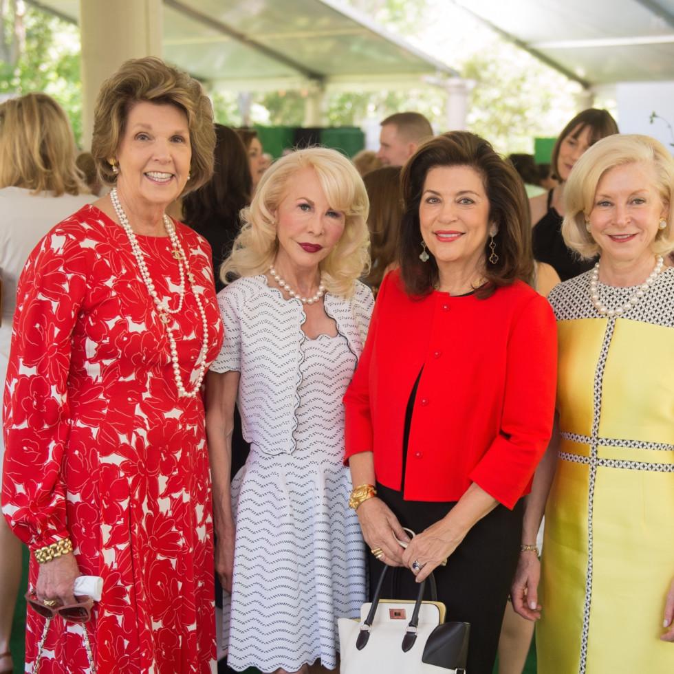 Bayou Bend Oscar de la Renta, Lilly Andress; Diane Lokey Farb; Dancie Ware; Ann Bookout