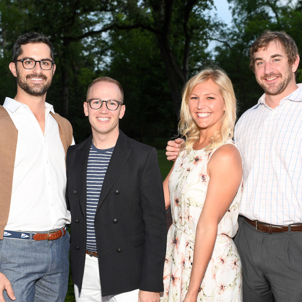 Houston, Trees for Houston Root Ball, April 2017, George Johnston, Bryan Beene, Ashley Olmsted, Carson Underwood
